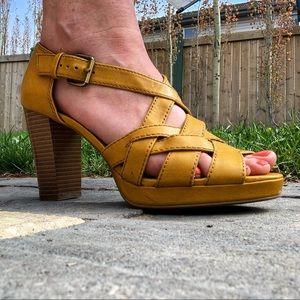 American Eagle Caged Open Toe Sandal